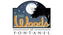 Logo for The Woods Amphitheater at Fontanel