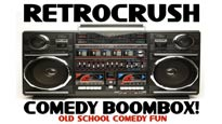 RetroCrush Comedy Boombox