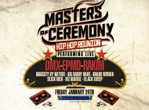 Masters of Ceremony Tickets