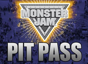 Monster Jam Party in the Pits: Pit Pass Tickets