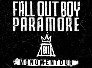 Monumentour: Fall Out Boy and Paramore Tickets