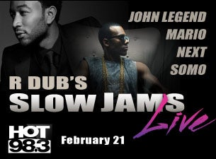 R Dub's Slow Jams Live! Tickets