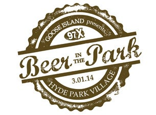 97x Beer In The Park Tickets