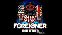 Styx, Foreigner: The Soundtrack of Summer Tour pre-sale code for early tickets in Newark