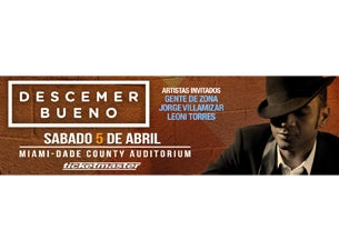 Descemer Bueno Tickets