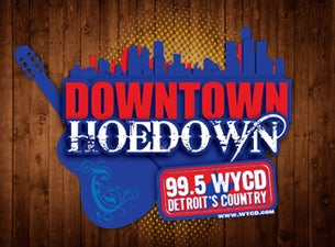 99.5 WYCD Downtown Hoedown Tickets
