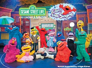 Sesame Street Live: Can't Stop Singing Tickets