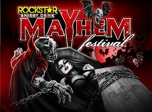 Rockstar Energy Drink Mayhem Festival Tickets