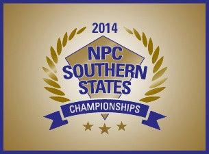 NPC Southern States Bodybuilding ChampionshipsTickets