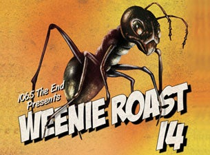 106.5 the End Weenie Roast Tickets