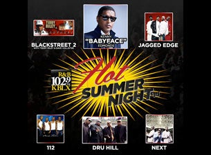 KBLX Hot Summer Nights Tickets