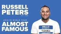 Russell Peters Almost Famous World Tour