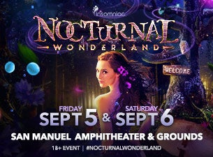 Nocturnal Wonderland Tickets