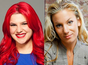 Carly Aquilino and Jessimae Peluso from Girl Code!Tickets