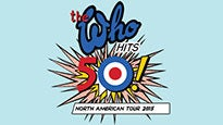 The Who Hits 50! presale code for early tickets in a city near you
