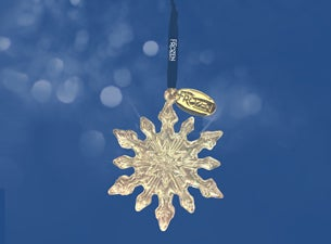 Ticketmaster Exclusive Frozen Snowflake Ornament