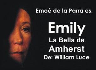 Emily, La Bella de Amherst