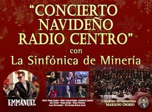 Concierto Navideño Radio Centro con la Sinfónica de Minería