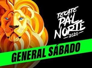 Tecate Pa'l Norte 2020 General (Sábado)