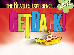 Get Back The Beatles Reunion