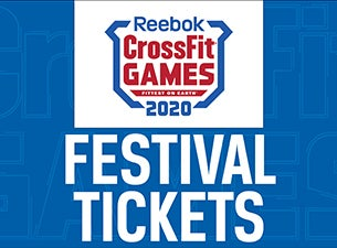 Festival Only: 2020 Reebok CrossFit Games