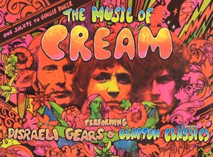 The Music of Cream Disraeli Gears & Clapton Classics