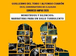 """Conversatorio """"Monstruos y Silencios"""" Guillermo del Toro y A. Cuaron"""