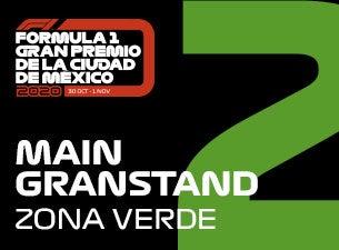 Grada 02, Formula 1 Gran Premio de la Ciudad de México 2020