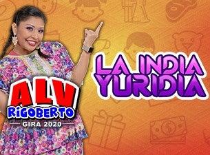 """La India Yuridia """"ALV Rigoberto"""" Gira 2020"""