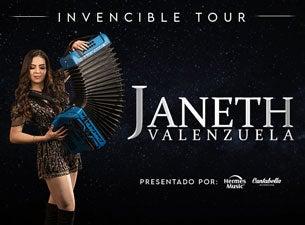 Janeth Valenzuela - Invencible Tour