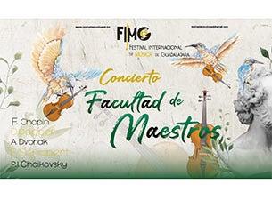 Recital de música de cámara, facultad del FIMG