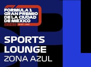 Sports Lounge, Formula 1 Gran Premio de la Ciudad de México 2020
