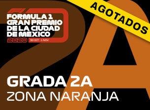 Grada 02A, Formula 1 Gran Premio de la Ciudad de México 2020