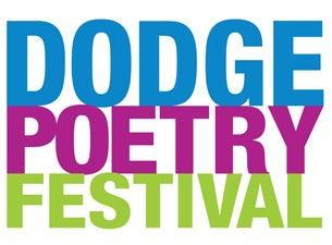 Geraldine R. Dodge Poetry Festival - Single Day Admission Thur, Oct 22