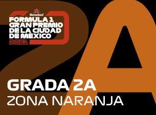 Grada 02A, Formula 1 Gran Premio de la Ciudad de México 2021