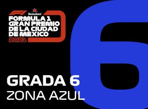 Grada 06, Formula 1 Gran Premio de la Ciudad de México 2021