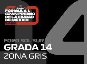 Grada 14, Formula 1 Gran Premio de la Ciudad de México 2021