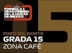 Grada 15, Formula 1 Gran Premio de la Ciudad de México 2021