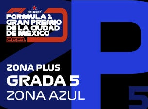 Grada 05 Zona Plus Formula 1