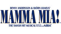 Mamma Mia password for musical tickets.