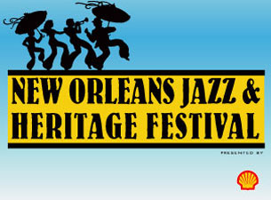 ANY ONE DAY Wknd 1 Ticket (Apr 25-28) - N.O. Jazz & Heritage Fest