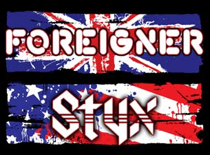 Styx and Foreigner Tickets