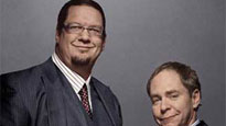 Penn & Teller presale code for early tickets in Prior Lake
