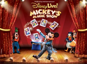 Ticketmaster Discount Code for Disney Live Mickey Magic Show in Staten Island, NY and Newark, NJ