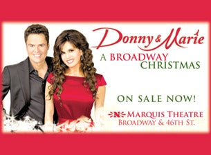 Donny & Marie - a Broadway Christmas Tickets