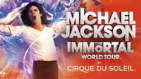 Michael Jackson THE IMMORTAL World Tour by Cirque du Soleil presale password for early tickets in Greenville