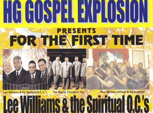 Lee Williams & The Spiritual QC's Tickets