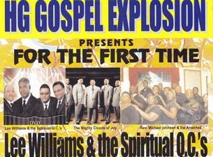 Lee Williams & The Spiritual QC'sTickets