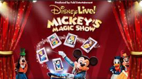 FREE Disney Live! Mickey Magic Show presale code for show tickets.