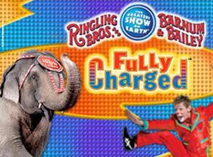Ringling Bros. and Barnum & Bailey: Fully Charged Tickets
